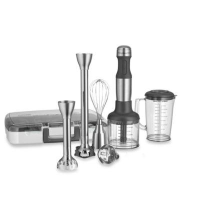 Kitchenaid 174 5 Speed Stainless Steel Hand Blender Bed