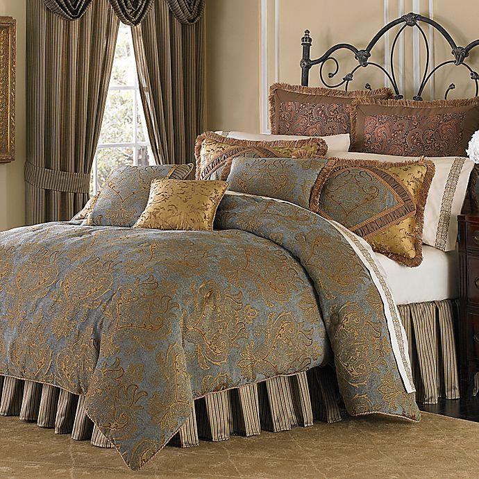 Piece Reversible Comforter Set, Michael Amini Bedding