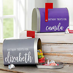 Birthday Treats Personalized Kids Mailbox