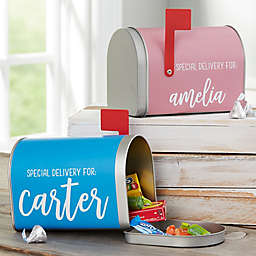 Special Delivery Personalized Kids Treat Mailbox
