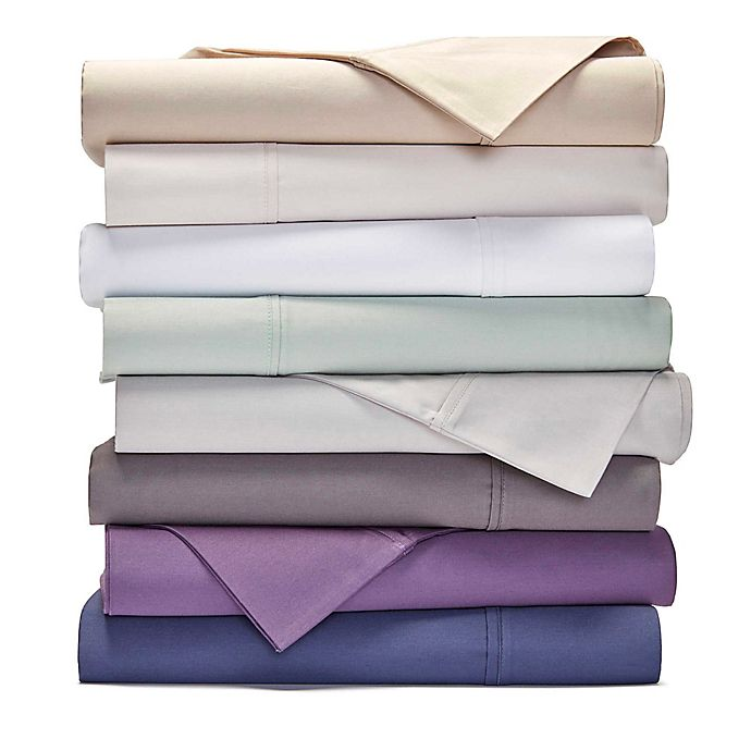 Alternate image 1 for Heartland® HomeGrown™ 400-Thread-Count Solid Sateen Sheet Set