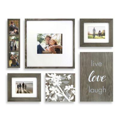 Wallverbs Organic Quot Live Love Laugh Quot Blossom 6 Piece Box