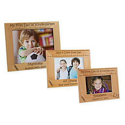 1st Day of School Picture Frame