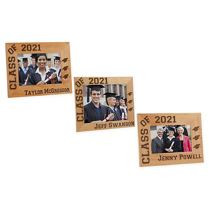 Alternate image 1 for Hats Off Graduation Picture Frame