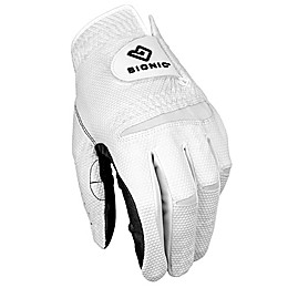 Bionic® Gloves NEW RelaxGrip® 2.0 Men's Golf Glove Collection in Black/White