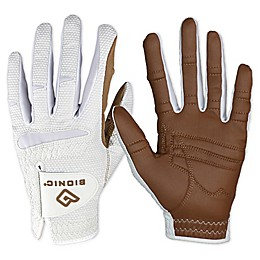 Bionic® Gloves RelaxGrip® 2.0 Women's Golf Glove Collection in White/Caramel
