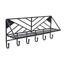 SALT™ Geo Wire Wall Hook Rack & Shelf