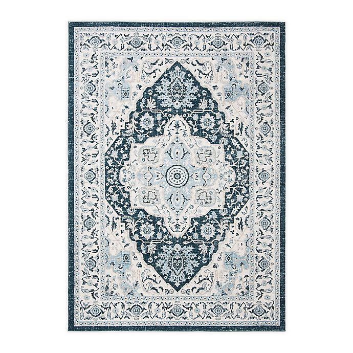 Alternate image 1 for Safavieh Isabella Gabby  9' x 12' Area Rug in Navy