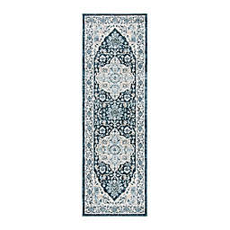 Safavieh Isabella Gabby  2'2 x 7' Runner in Navy