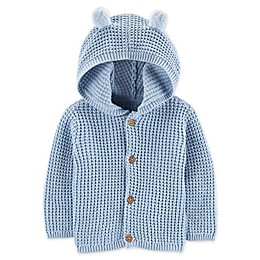 carter's® Hooded Cardigan in Blue
