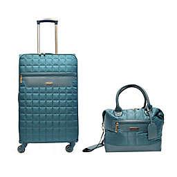 Tahari New York Chelsea Quilt 2-Piece Softside Luggage Set