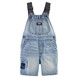 OshKosh B'gosh® Bright Wash Patch Denim Shortall