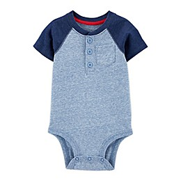 OshKosh B'gosh® Henley Colorblock Bodysuit
