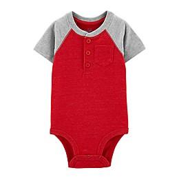 OshKosh B'gosh® Henley Colorblock Bodysuit