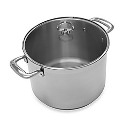 Chantal® Induction 21 Steel™ 8 qt. Covered Stock Pot