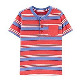 OshKosh B'gosh® Front Button Placket Henley Toddler T-Shirt
