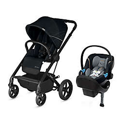 CYBEX Balios S/Aton M Travel System in Black