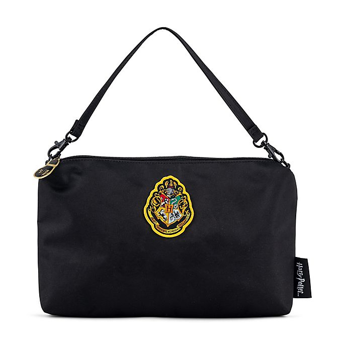 Alternate image 1 for Ju-Ju-Be® Be Quick Harry Potter™ Mischief Managed Diaper Clutch in Black