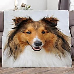 Picture It! Pet Personalized 60-Inch x 80-Inch Fleece Blanket