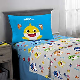 Baby Shark Sheet Set in Blue Multi