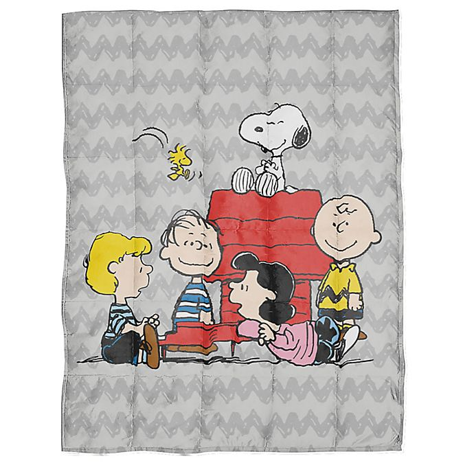 Alternate image 1 for Peanuts™ Reversible Weighted Blanket
