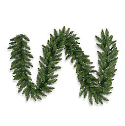 Vickerman 9-Foot Camdon Fir Garland in Green