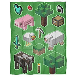 Minecraft Reversible Weighted Blanket