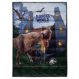 Jurassic World Reversible 36-Inch x 48-Inch Weighted Blanket in Grey/Black