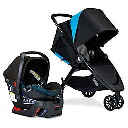BRITAX® B-Lively & B-Safe Ultra Travel System in Teal