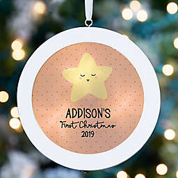 Baby's First Christmas LED Light Ornament