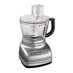 KitchenAid®® 14-Cup Food Processor with Dicing Kit in Silver