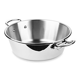 Mauviel M'cook 14-Inch Stainless Steel Jam Pan