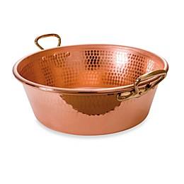 Mauviel M'passion Copper 10.6-Quart Jam Pan
