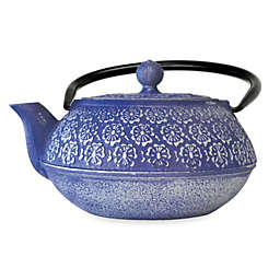 Primula® Floral 34 oz. Cast Iron Teapot