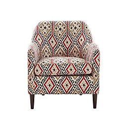 Madison Park Laurel Accent Chair in Brown