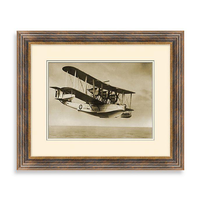 Alternate image 1 for Vintage Biplane 2 Framed Art