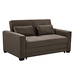 Lifestyle Solutions® Serta® Springville Convertible Sofa Bed in Antler