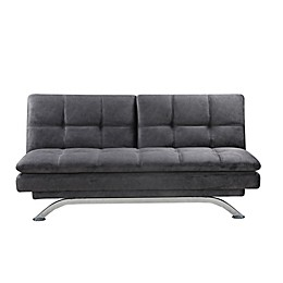 Lifestyle Solutions® Serta® Payson Convertible Sofa Bed in Dark Grey