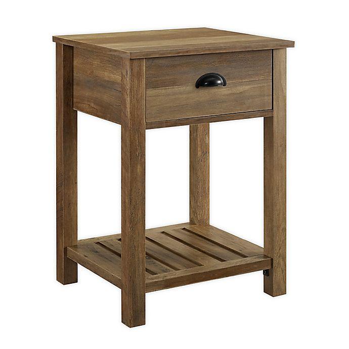 Alternate image 1 for Forest Gate™ Sage 1-Drawer End Table