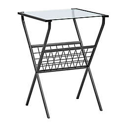 Forest Gate™ Side End Table with Magazine Rack