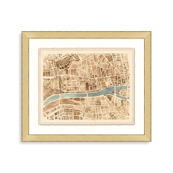 "Alternate image 1 for ""Modern Map of Paris\"