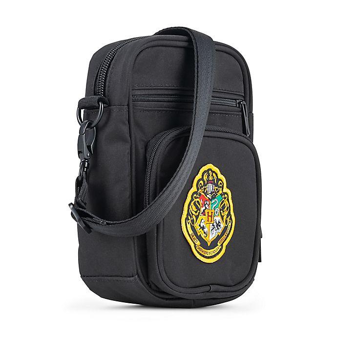 Alternate image 1 for Ju-Ju-Be® Harry Potter™ Mini Helix Mischief Managed Diaper Messenger Bag in Black