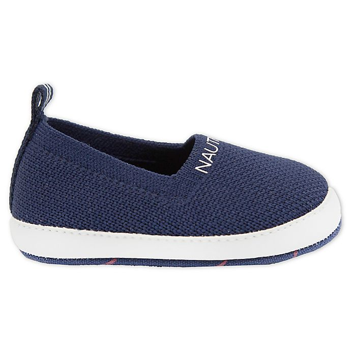 Alternate image 1 for Nautica® Knit Fabric Slip-On Shoe in Navy