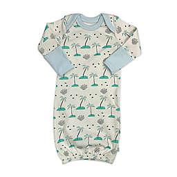 Finn by Finn + Emma® One Size Beach Palms Organic Cotton Gown