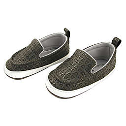 Rising Star™ Grey Weave Slip-On Sneaker