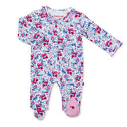 Magnetic Me® by Magnificent Baby Darlington Floral Magnetic Footie