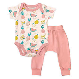Finn by Finn + Emma® Tropical Fruit Organic Cotton Bodysuit and Pant Set