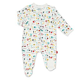 Magnetic Me® by Magnificent Baby ABC Love Magnetic Footie