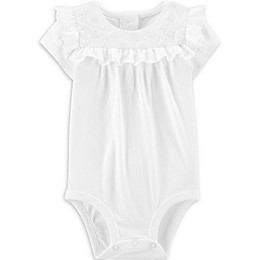 OshKosh B'gosh® Eyelet Bodysuit in Ivory