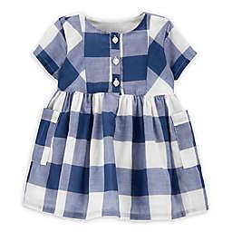 OshKosh B'gosh® Checkered Dress in Plaid